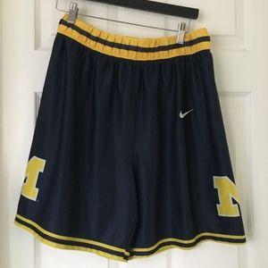 Nike Basketball shorts Michigan UVM